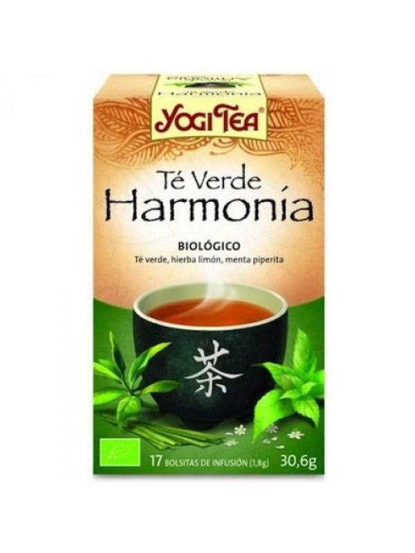YOGI TEA VERDE 'HARMONIA' 17 BOLSITAS BIO - YOGI TEA - 4012824401907
